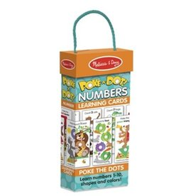 Melissa & Doug Poke A Dot Learning Cards - 123s