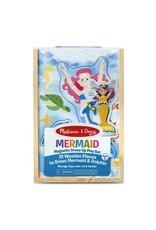 Melissa & Doug Mermaid Magnetic Dress-Up Play Set
