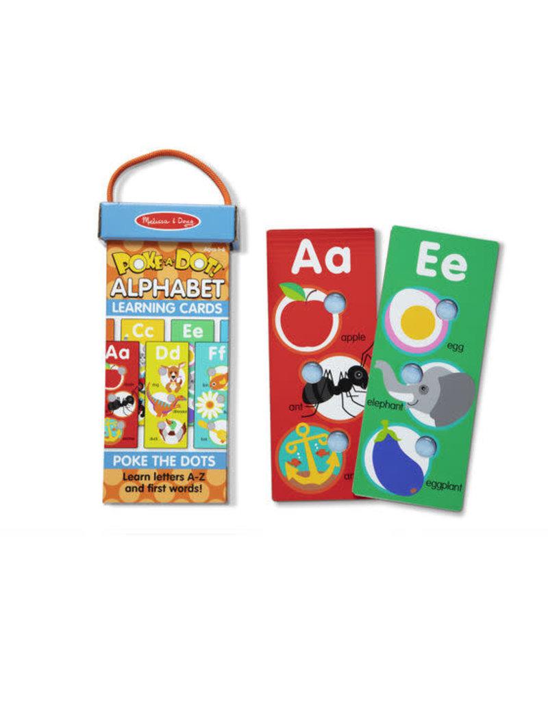 Melissa & Doug Poke A Dot Learning Cards - ABCs