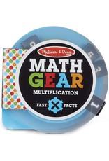 Melissa & Doug Math Gears: Multiplication
