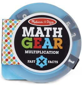 Melissa & Doug Math Gears: Multiplication