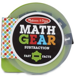 Melissa & Doug Math Gears: Subtraction
