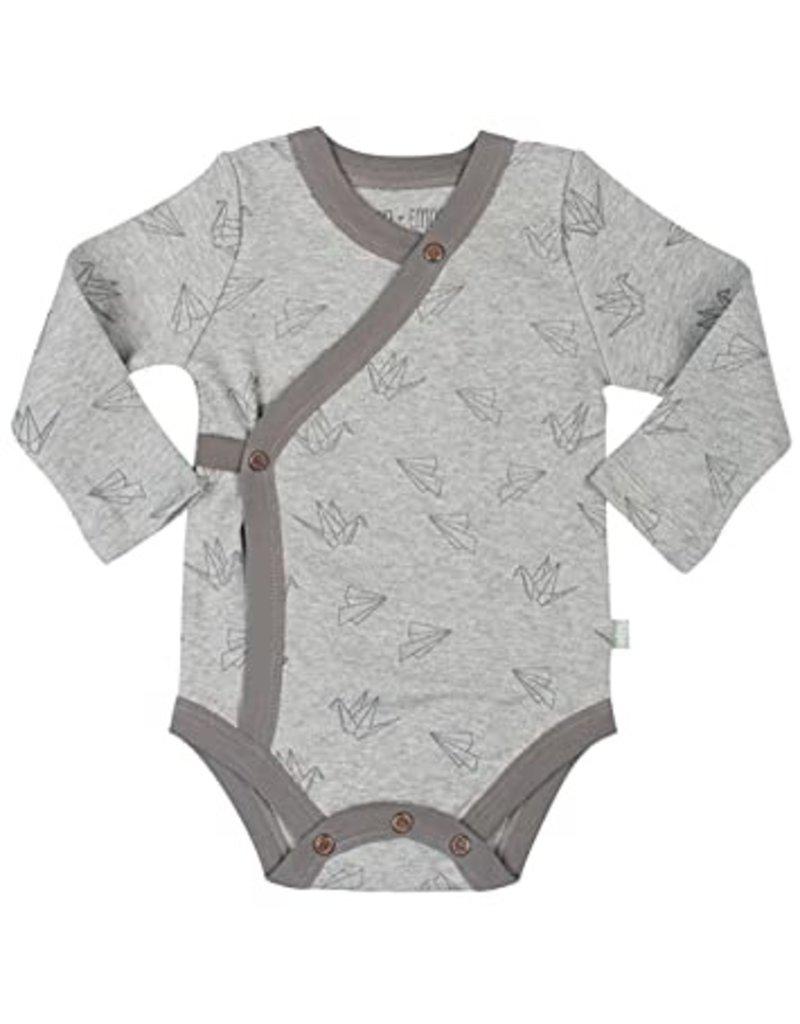 L/S bodysuit origami