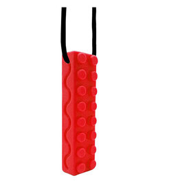 Swanky Babies Swanky Babies Sensory Chew Necklace - Red