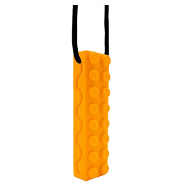 Swanky Babies Swanky Babies Sensory Chew Necklace - Orange