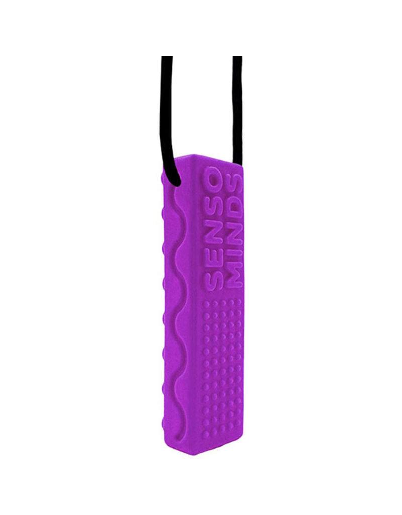 Swanky Babies Sensory Chew Necklace - Purple