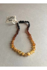 "CanyonLeaf 11"" Raw Amber  Necklace Ombre"