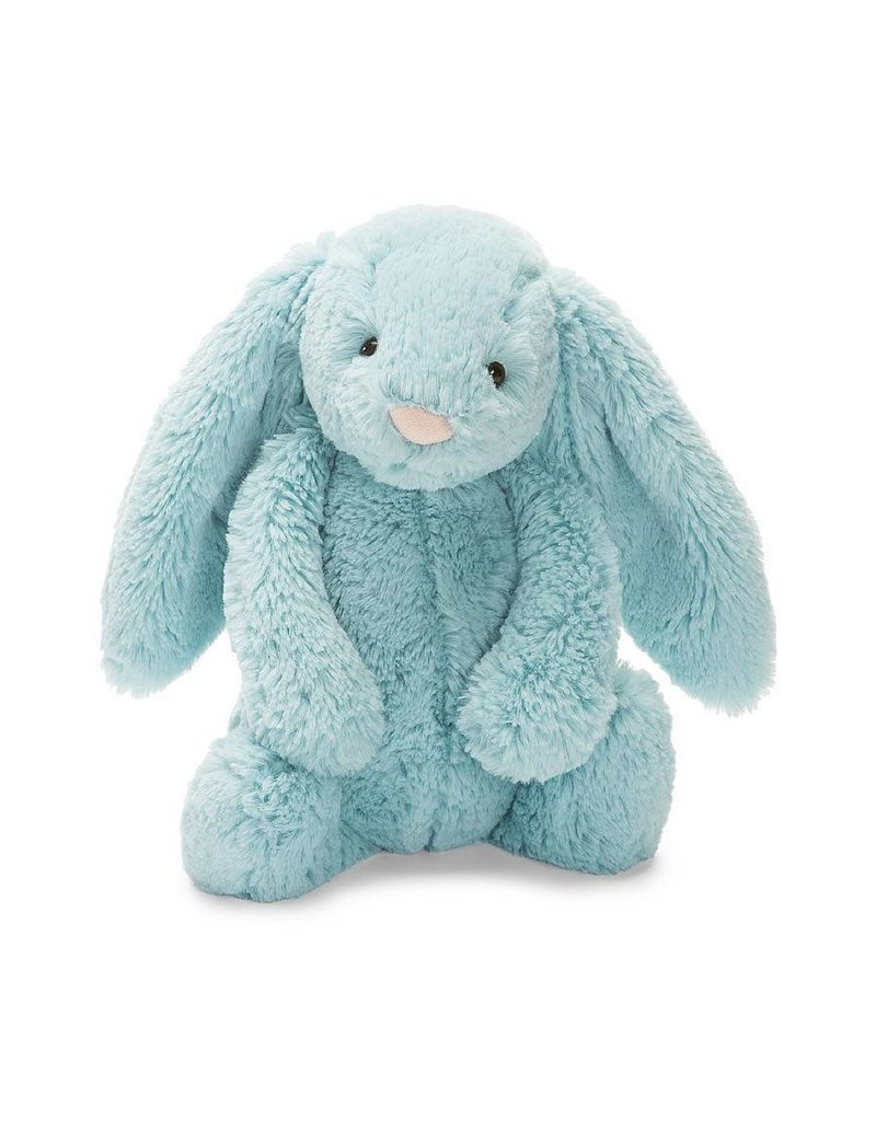 "jellycat Bashful Aqua Bunny 7"""
