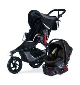 Bob Travel System BOB GEAR REV FLEX 3.0 B-SAFE GEN2, GRAPHITE BLACK