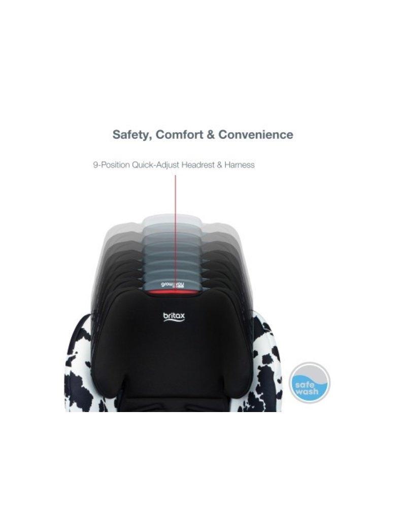 Britax Grow With You ClickTight SafeWash COWMOOFLAGE
