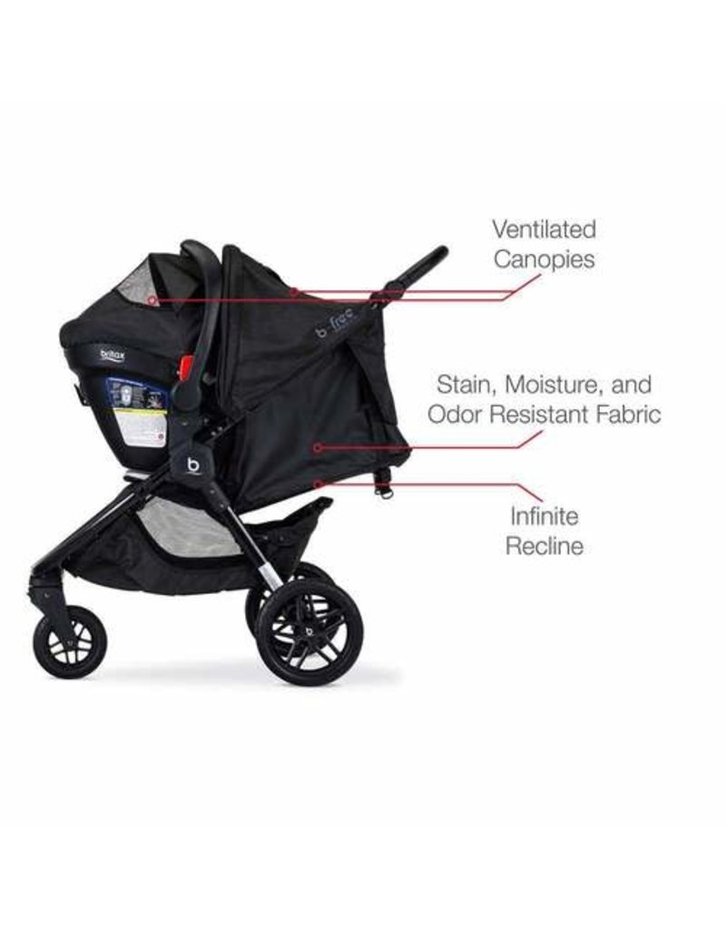 Britax Britax B-Free + Endeavours Clean Comfort Travel System