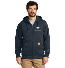 Swanky Babies NEW LOGO WCC 100614 Carhartt ® Rain Defender ® Paxton Heavyweight Hooded Zip-Front Sweatshirt