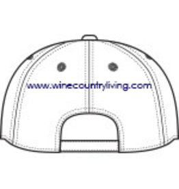 Swanky Babies New logo WCC Soft Brush Canvas hat - White