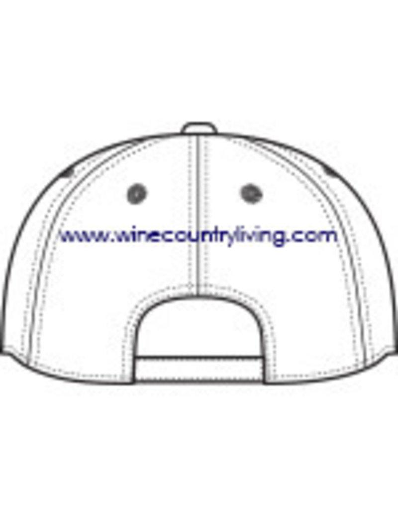 Swanky Babies New logo WCC Soft Brush Canvas hat - White