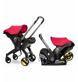 Doona Doona™+ Infant Car Seat/Stroller with LATCH Base - Flame Red