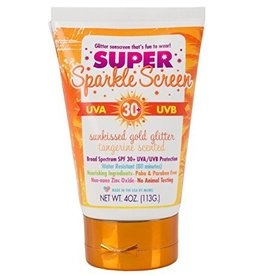SUPER Sparkle Screen 80 Minute Water Resistant SPF 30+ 4oz