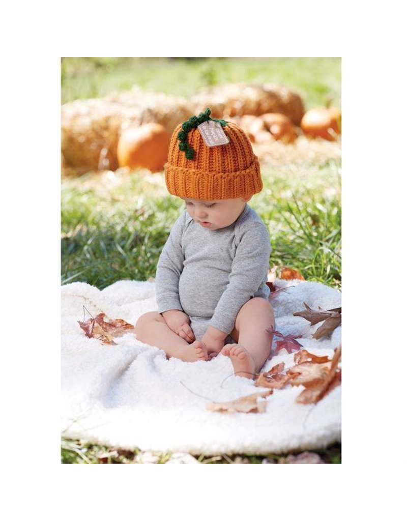 CUTEST PUMPKIN IN PATCH HAT