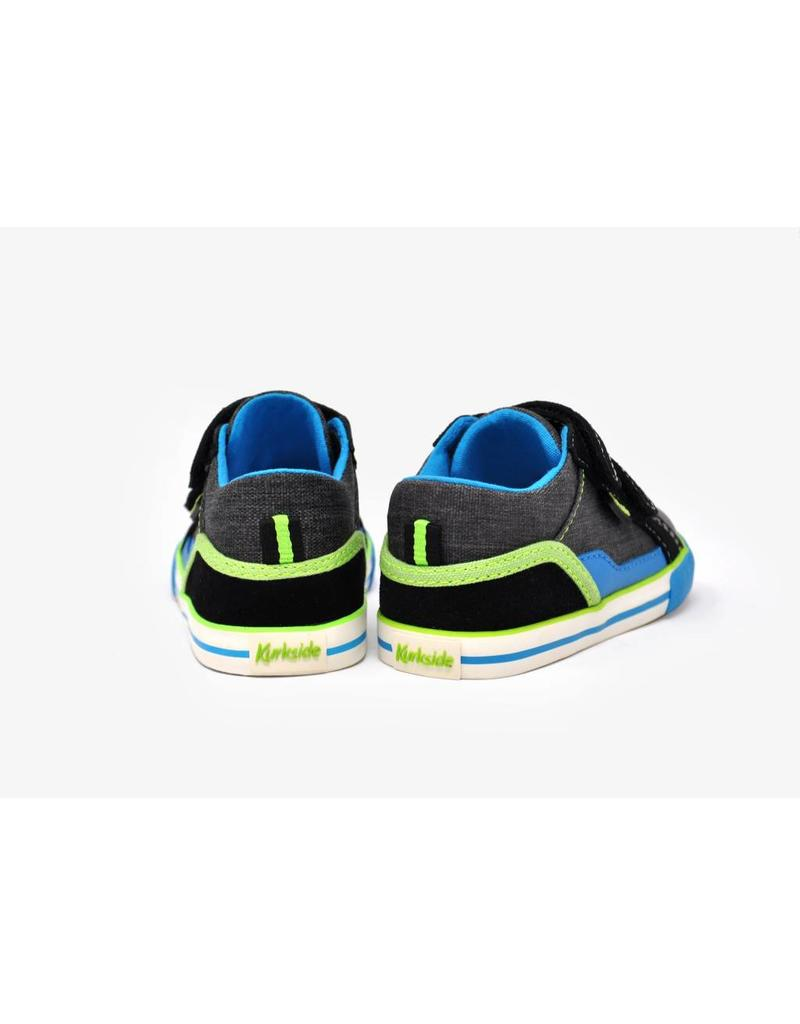 Kurkside Covell Boys Double Velcro Black
