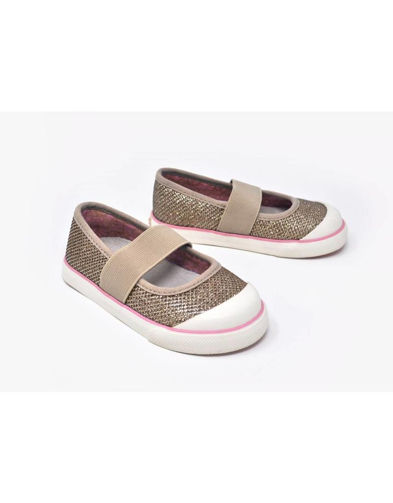 Kurkside Carmenita Girls Gore Skimmer Gold