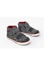 Kurkside Barca Boys Hi Top Grey