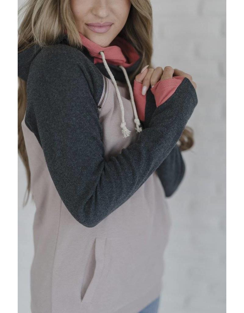 AmpersandAve DoubleHood™ Sweatshirt - Into the Woods