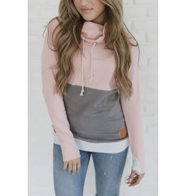 AmpersandAve CowlNeck Sweatshirt - Love Affair