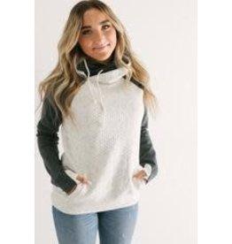 AmpersandAve DoubleHood™ Sweatshirt - Quilted