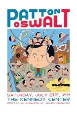 Ivan Brunetti Set of 2 Patton Oswalt Digital Prints (Carnegie Hall and The Kennedy Center) by Ivan Brunetti