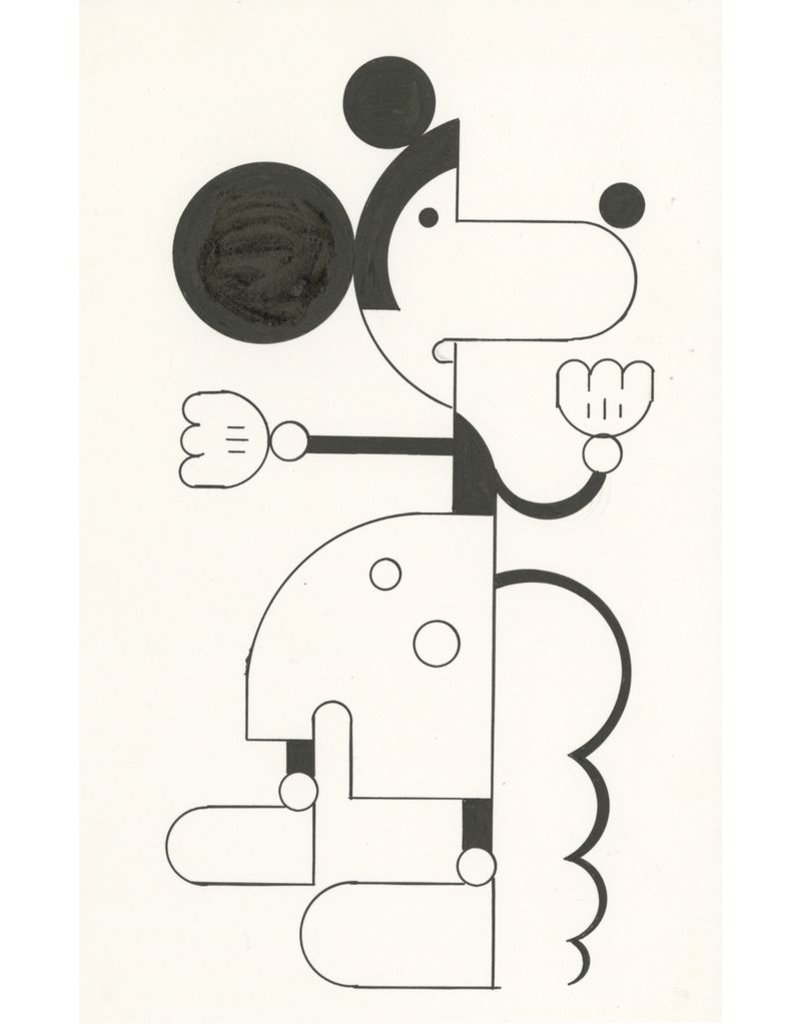 Ivan Brunetti Mouse #1, 2014, Illustration by Ivan Brunetti