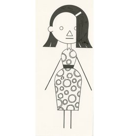 Ivan Brunetti Woman #2, 2012, Illustration by Ivan Brunetti