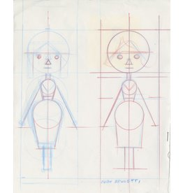 Ivan Brunetti Template Sketch, 2012, Illustration by Ivan Brunetti