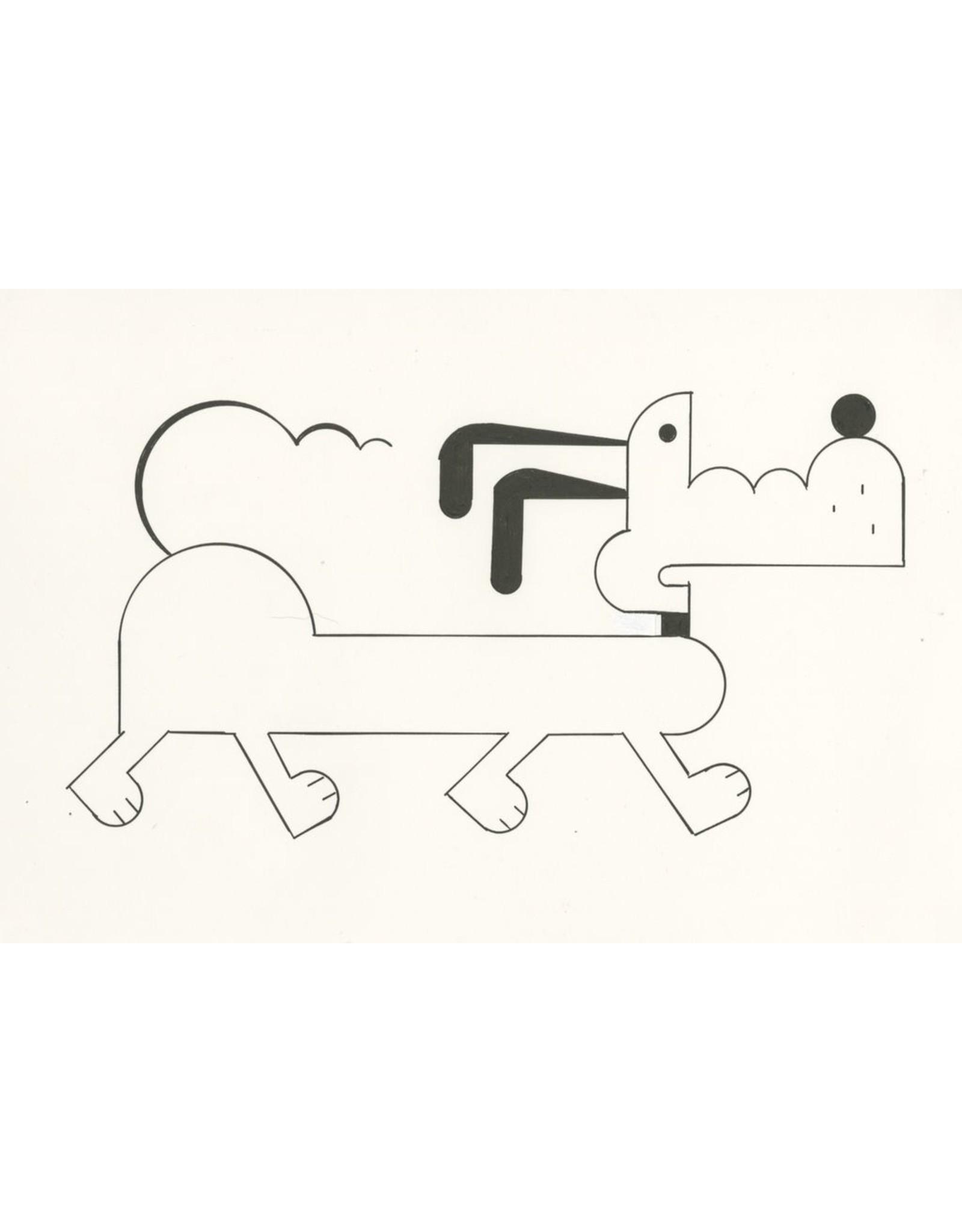 Ivan Brunetti Dog, Illustration by Ivan Brunetti