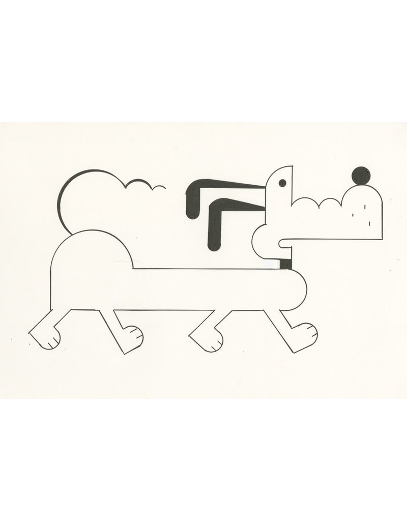 Ivan Brunetti Dog, Illustration by Ivan Brunetti