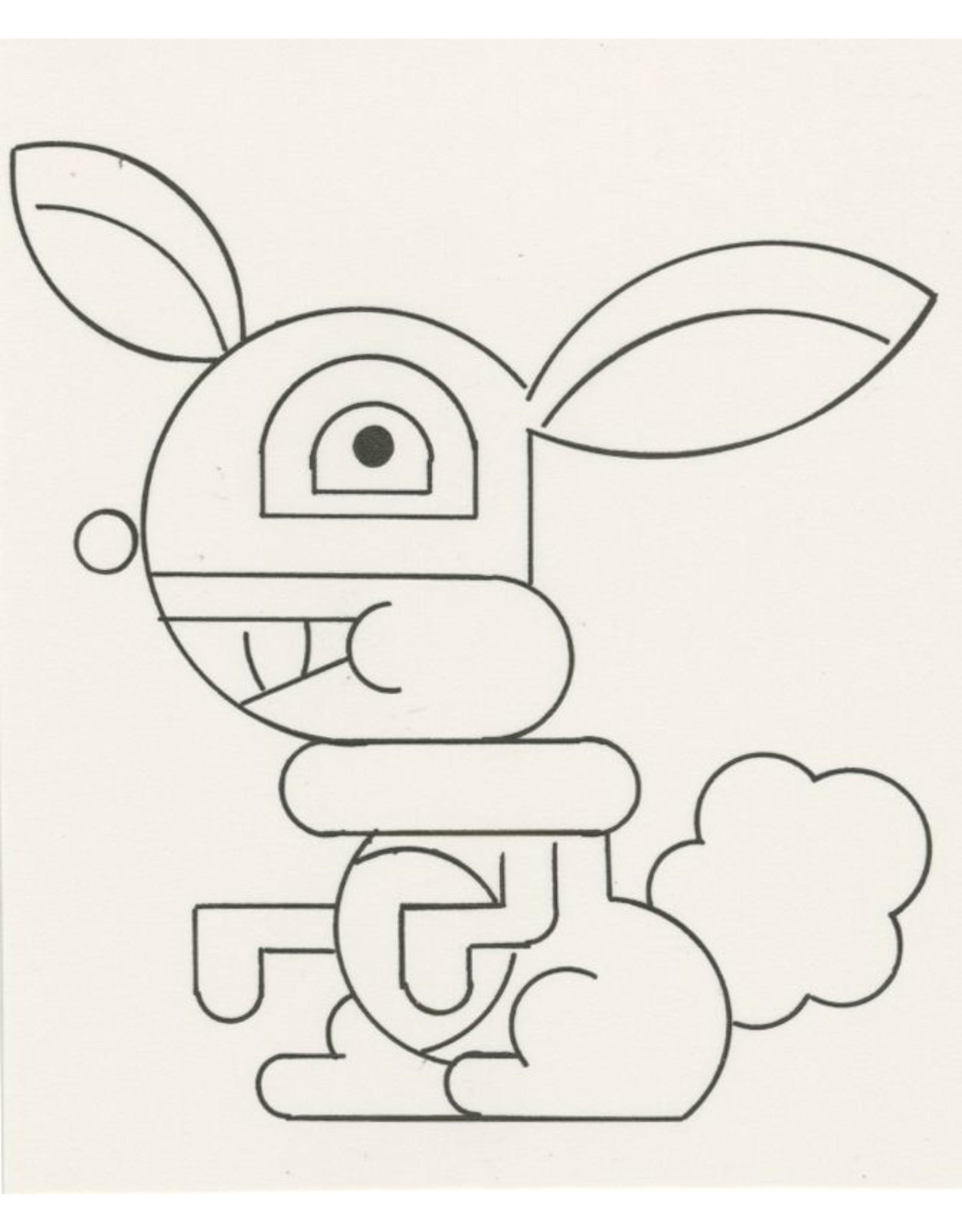 Ivan Brunetti Rabbit, Illustration by Ivan Brunetti