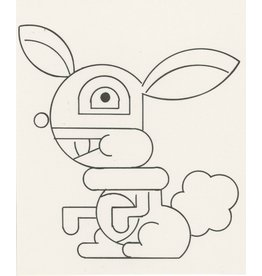 Ivan Brunetti Rabbit, Illustration by Ivan Brunetti