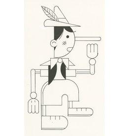 Ivan Brunetti Puppet, Illustration by Ivan Brunetti