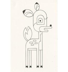 Ivan Brunetti Deer, Illustration by Ivan Brunetti
