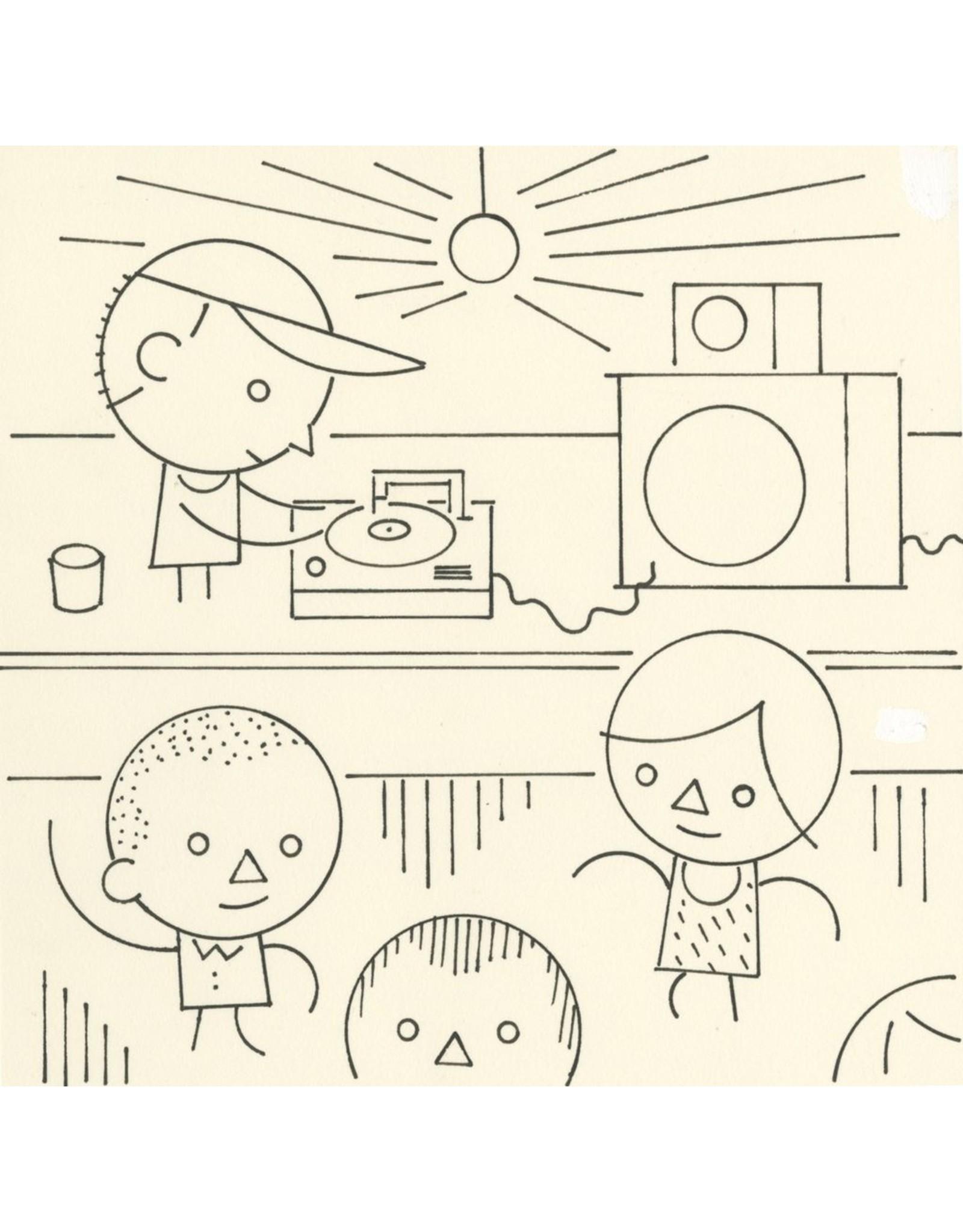 Ivan Brunetti DJ, Illustration by Ivan Brunetti for the New Yorker, Goings On About Town, September 12, 2013