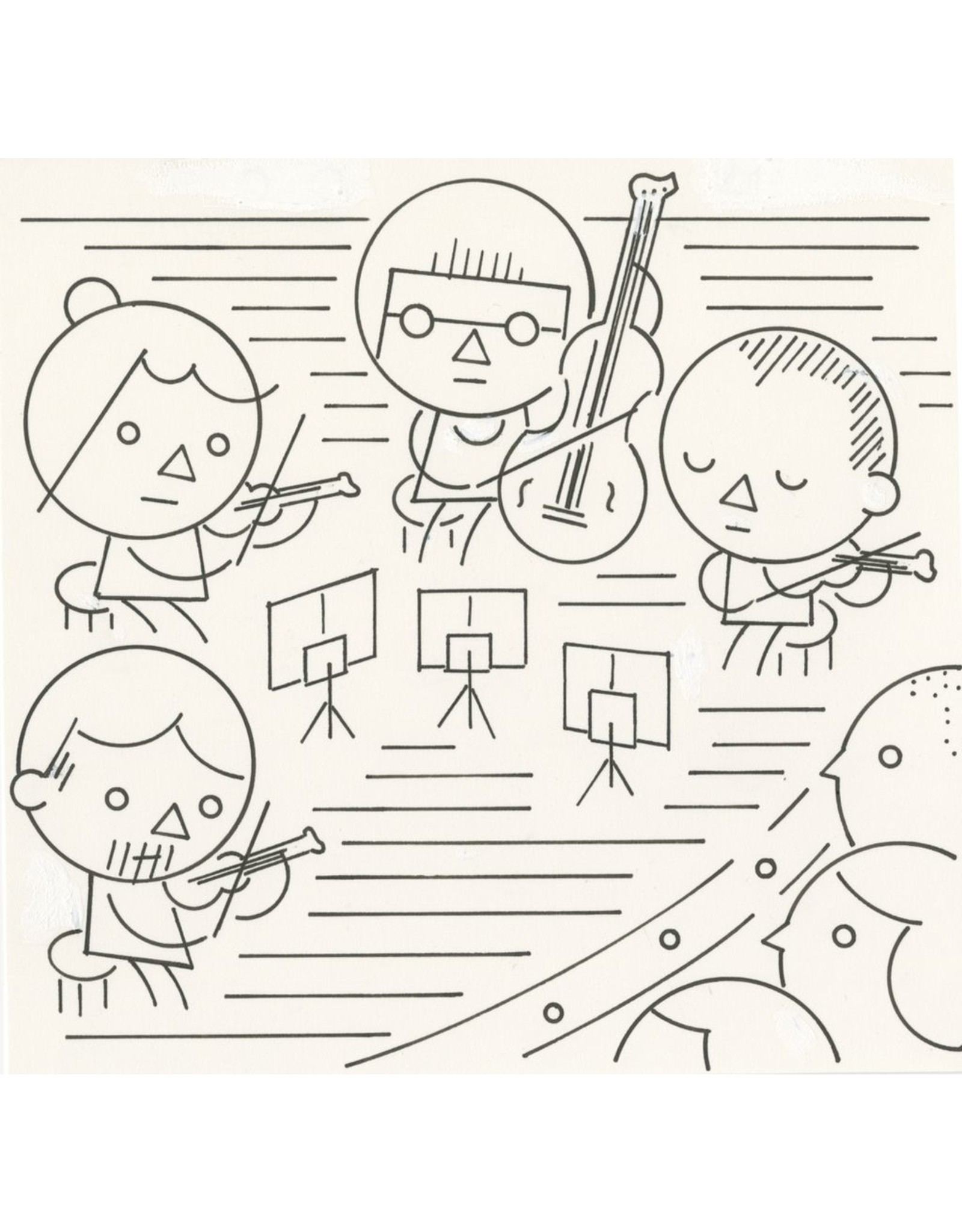 Ivan Brunetti Classical, Illustration by Ivan Brunetti for the New Yorker, Goings On About Town, September 12, 2013