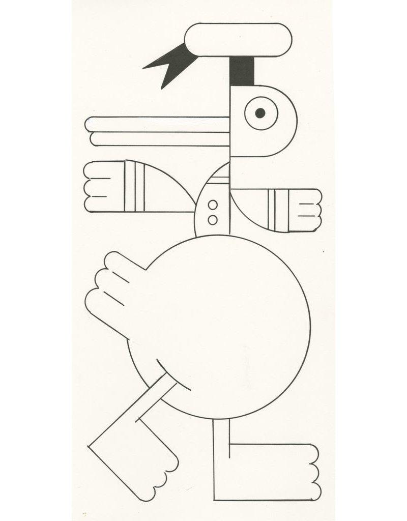 Ivan Brunetti Duck, Illustration by Ivan Brunetti