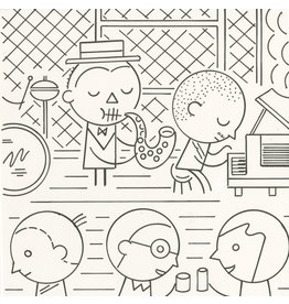 Ivan Brunetti Jazz, Illustration by Ivan Brunetti for the New Yorker, Goings On About Town, September 12, 2013