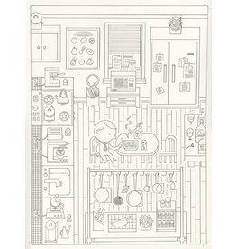 Ivan Brunetti Cover of the New Yorker, illustration by Ivan Brunetti for Comfort Food, November 2, 2015