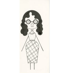 Ivan Brunetti Woman #1, 2012, Illustration by Ivan Brunetti