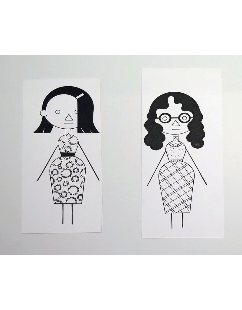Ivan Brunetti Woman #1, 2012, Illustration by Ivan Brunetti