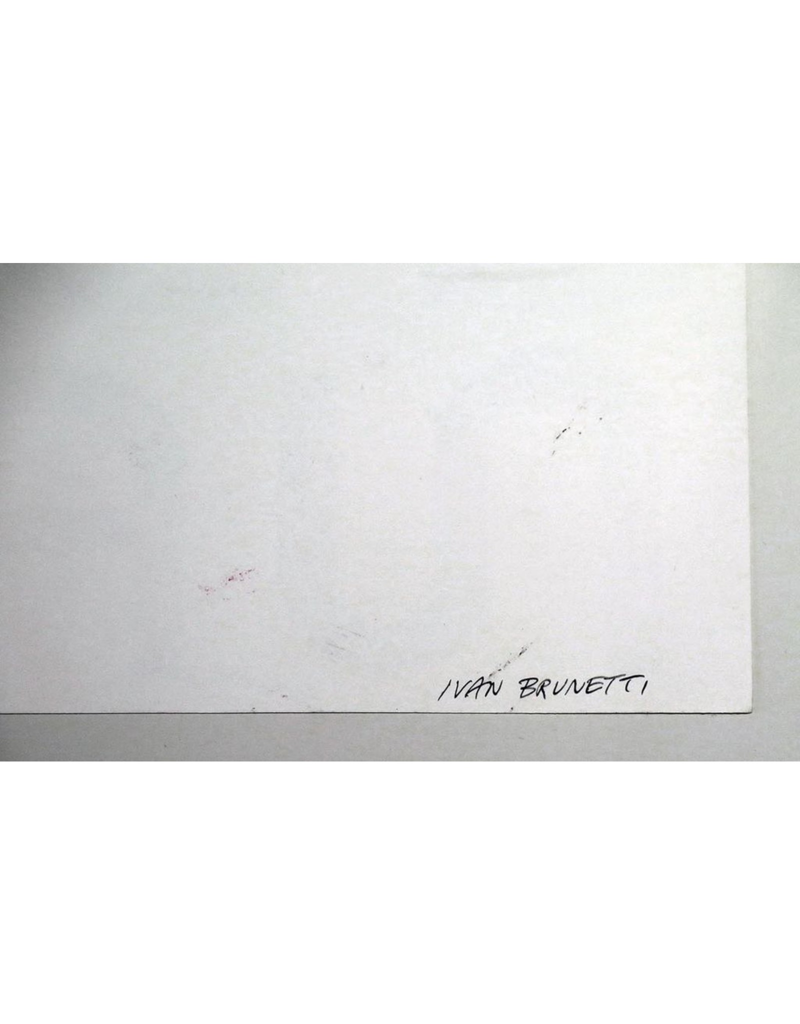Ivan Brunetti Smoke Signal Title Lettering, 2014, Illustration by Ivan Brunetti