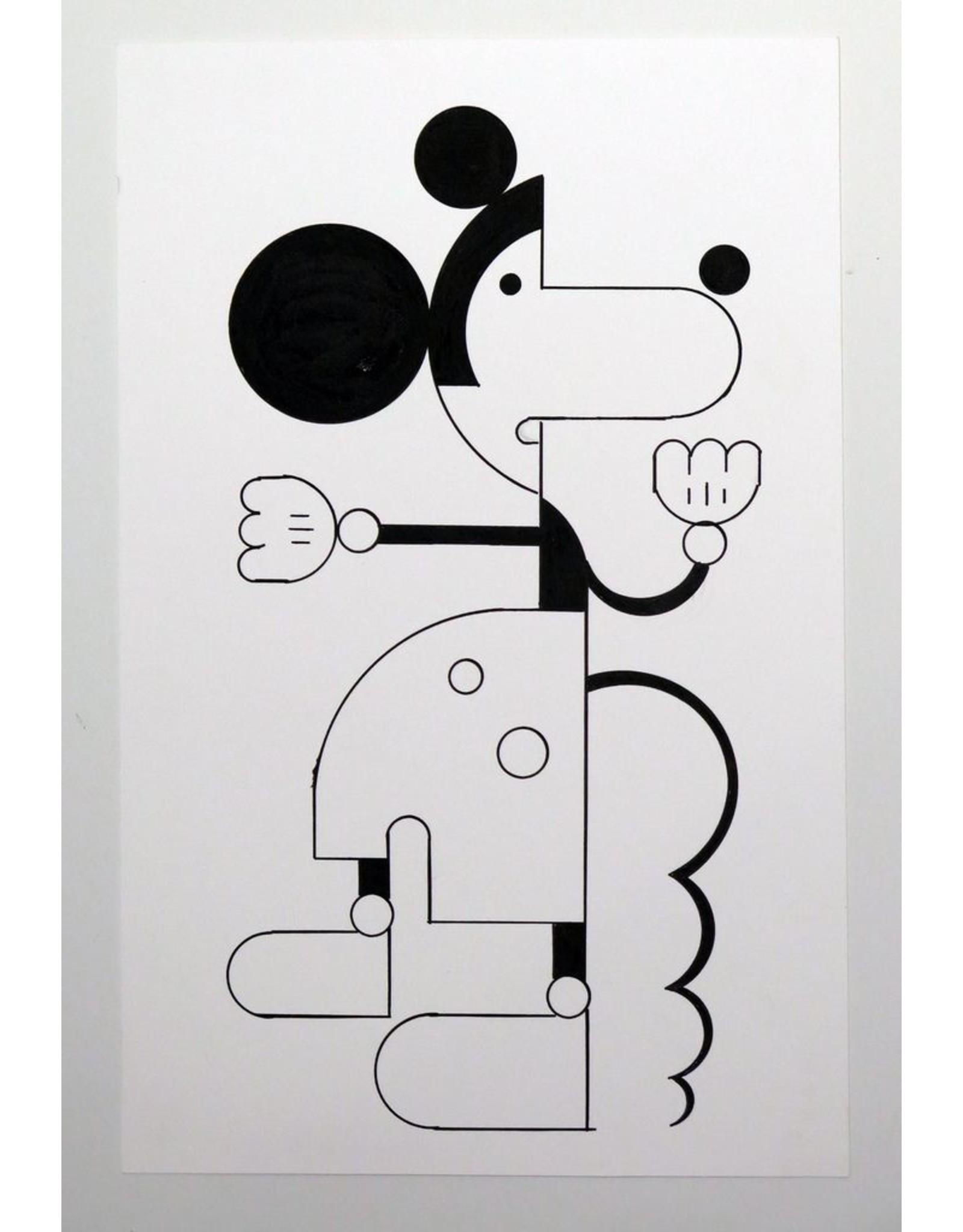 Ivan Brunetti Mouse #1, 2014, Illustration by Ivan Brunetti