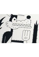 Ivan Brunetti Wolf, 2014, Illustration by Ivan Brunetti