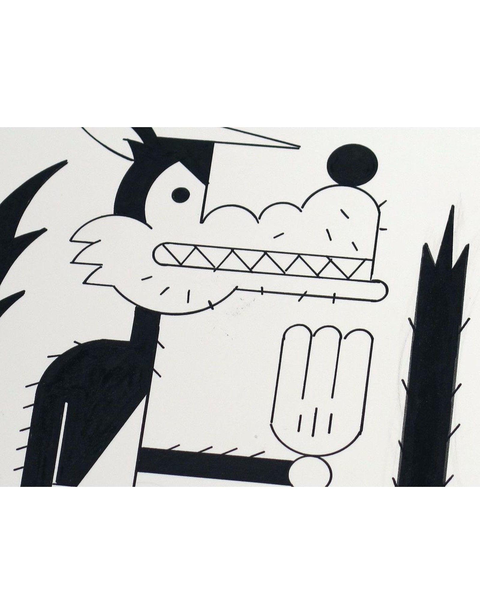 Ivan Brunetti Wolf, 2014, Illustration by Ivan Brunetti
