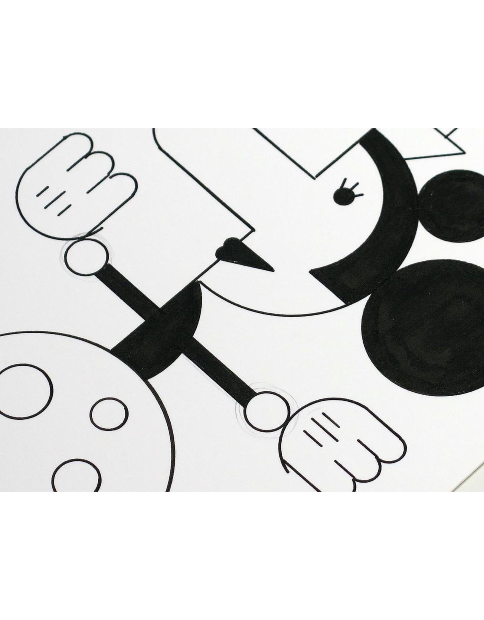Ivan Brunetti Mouse #2, 2104, Illustration by Ivan Brunetti