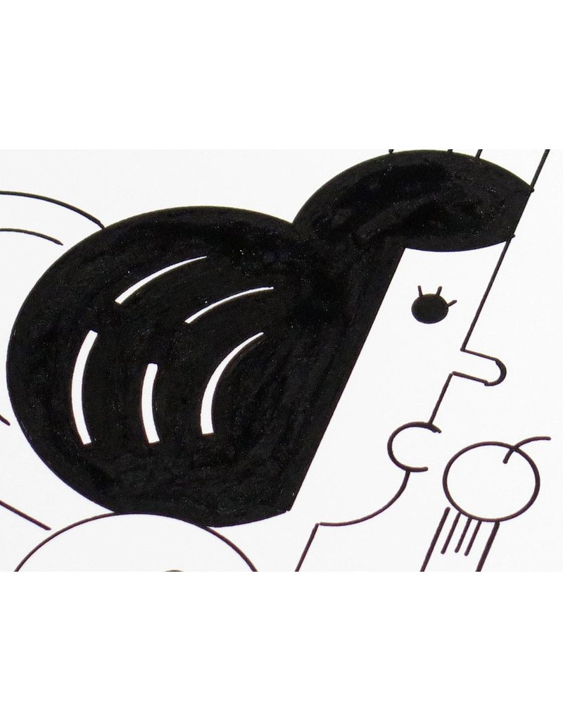 Ivan Brunetti Princess, 2014, Illustration by Ivan Brunetti